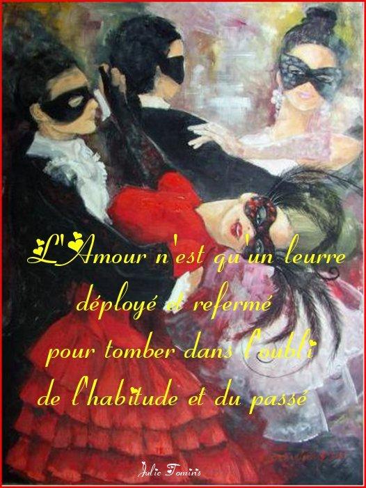 masque-robe-rouge1 Amour dans Pensees poetiques